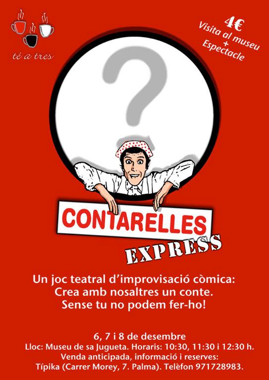 Contarelles Express - Museu de la Jugueta